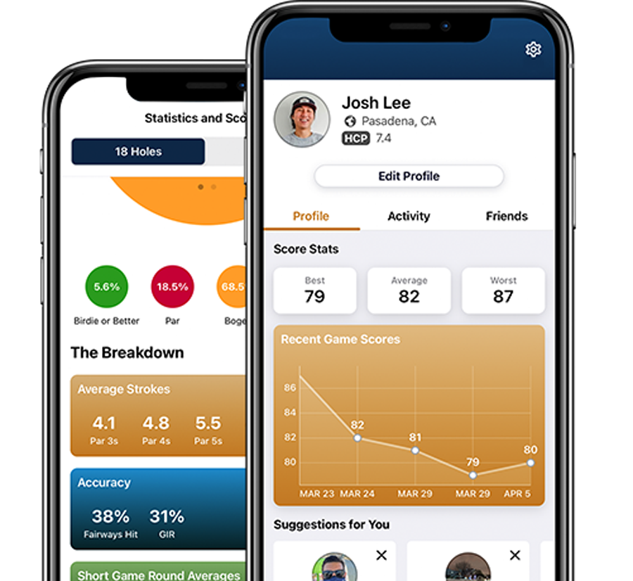 GolfNow Compete Statistics