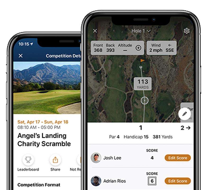 GolfNow Compete Invite Friends